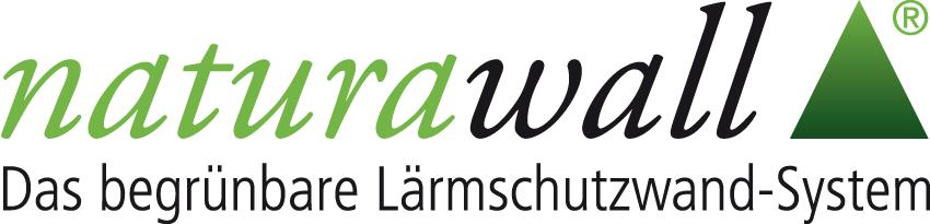 naturawall Logo Die begrünbare Lärmschutzwand Lärm Garten Lärmschutz bepflanzt grün ökologisch